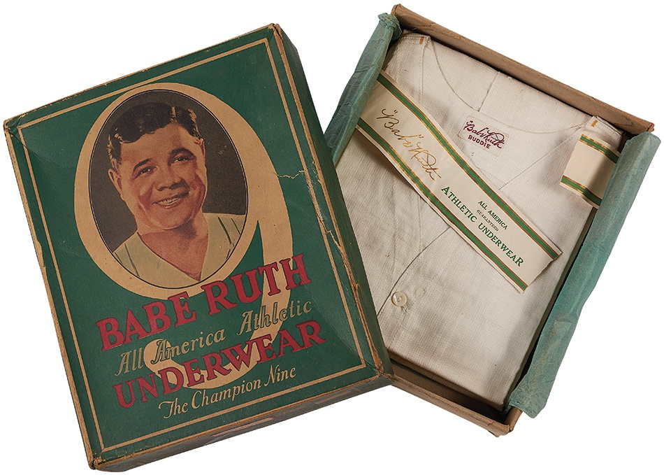 Ruth and Gehrig - Summer 2015 Catalog Auction