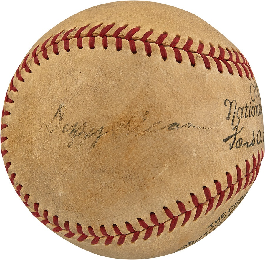 The Joe L Brown Signed Baseball Collection - Summer 2015 Catalog Auction