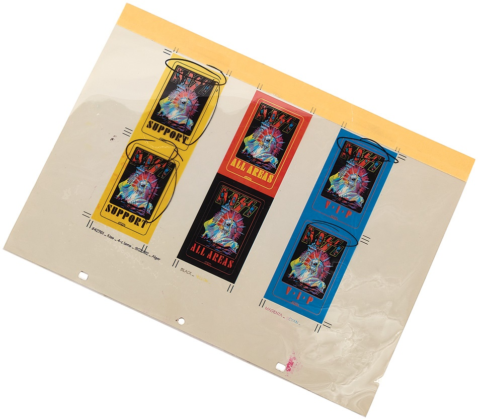 The Otto Ticket and Backstage Passes - Summer 2015 Catalog Auction