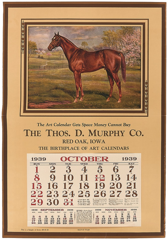 Horse Racing - Summer 2015 Catalog Auction