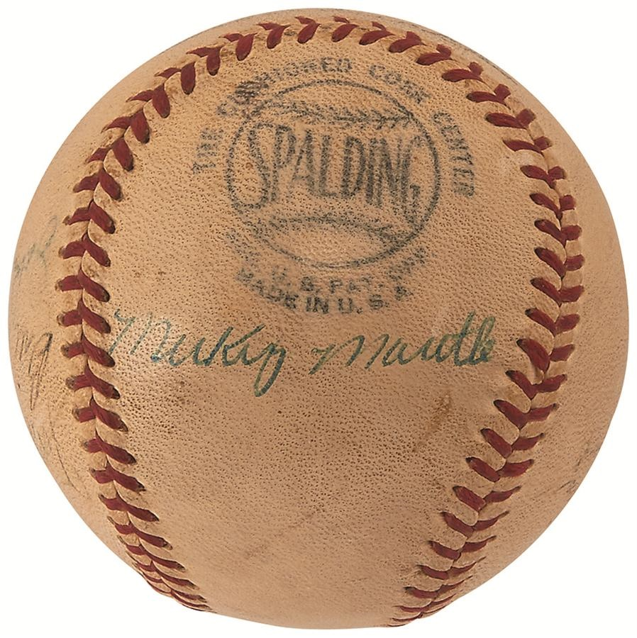 NY Yankees, Giants & Mets - Summer 2015 Catalog Auction