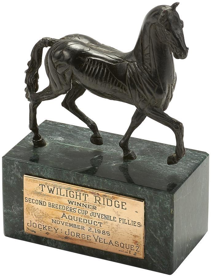The Jorge Velasquez Horse Racing Collection - Winter 2015 Catalog Auction