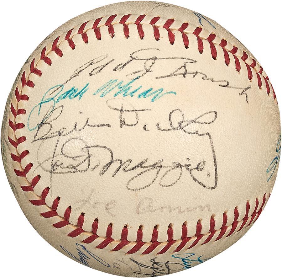 Baseball Autographs - Winter 2015 Catalog Auction
