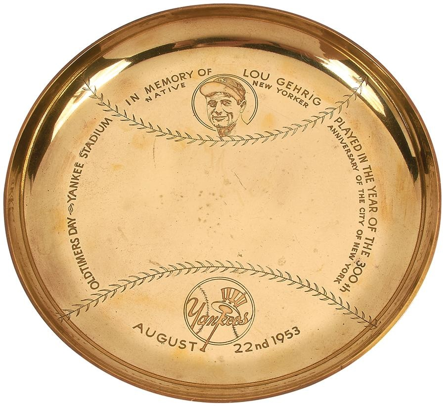 Ruth and Gehrig - Winter 2015 Catalog Auction