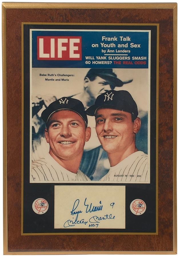 Mantle and Maris - Winter 2015 Catalog Auction