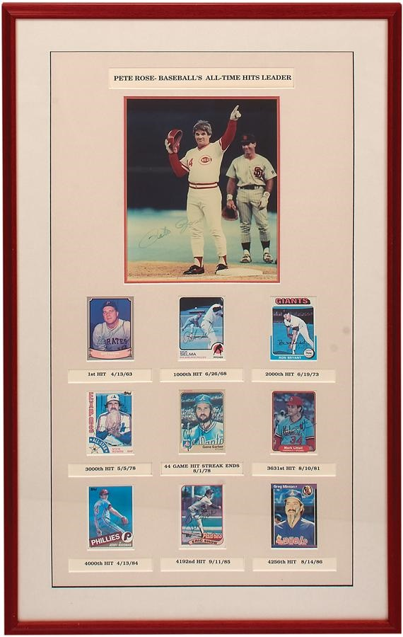 Pete Rose & Cincinnati Reds - Summer 2016 Catalog