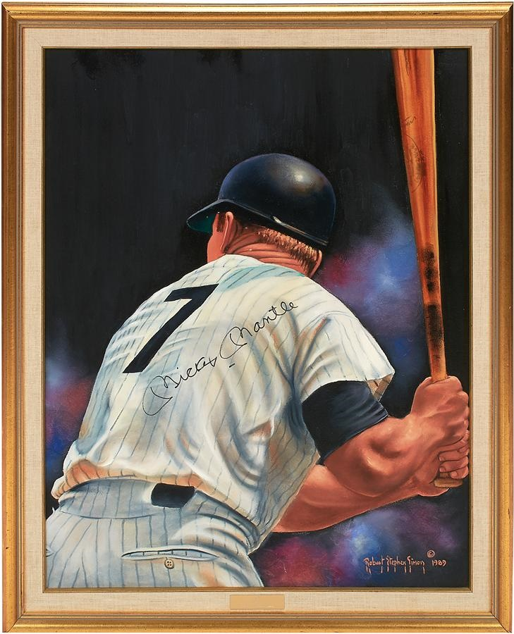 Robert Stephen Simon Collection of Sports Art - Summer 2016 Catalog