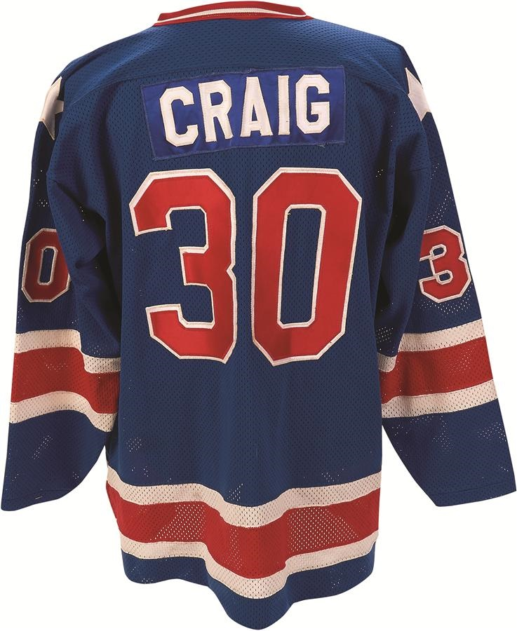 The Jim Craig 'Miracle on Ice' Collection - auction