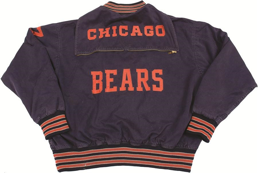 Ted Karras 1963 World Champion Chicago Bears Game Worn Jacket 8aaf4fe52