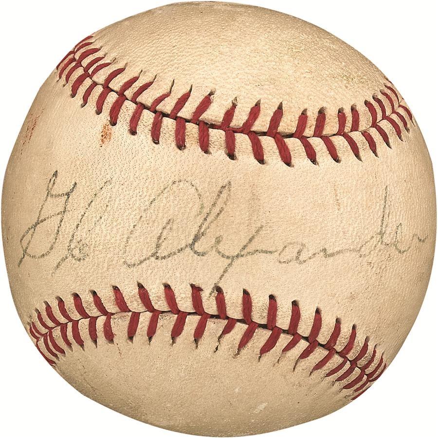Baseball Autographs - Fall 2016