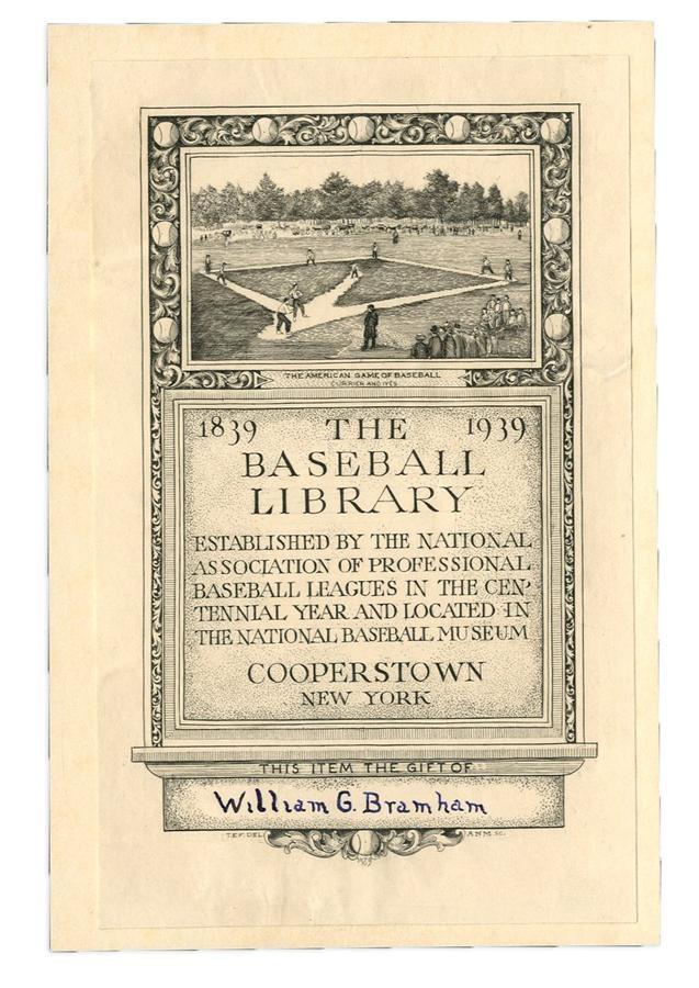Early Baseball - Fall 2016