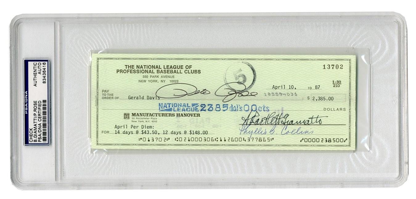 Baseball Autographs - Steel17