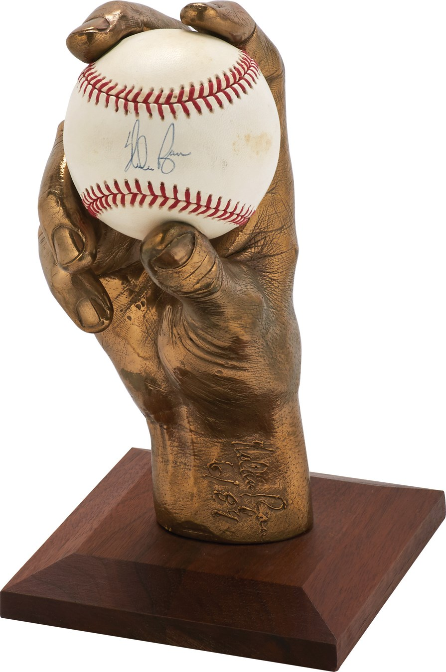 Baseball Memorabilia - Steel17