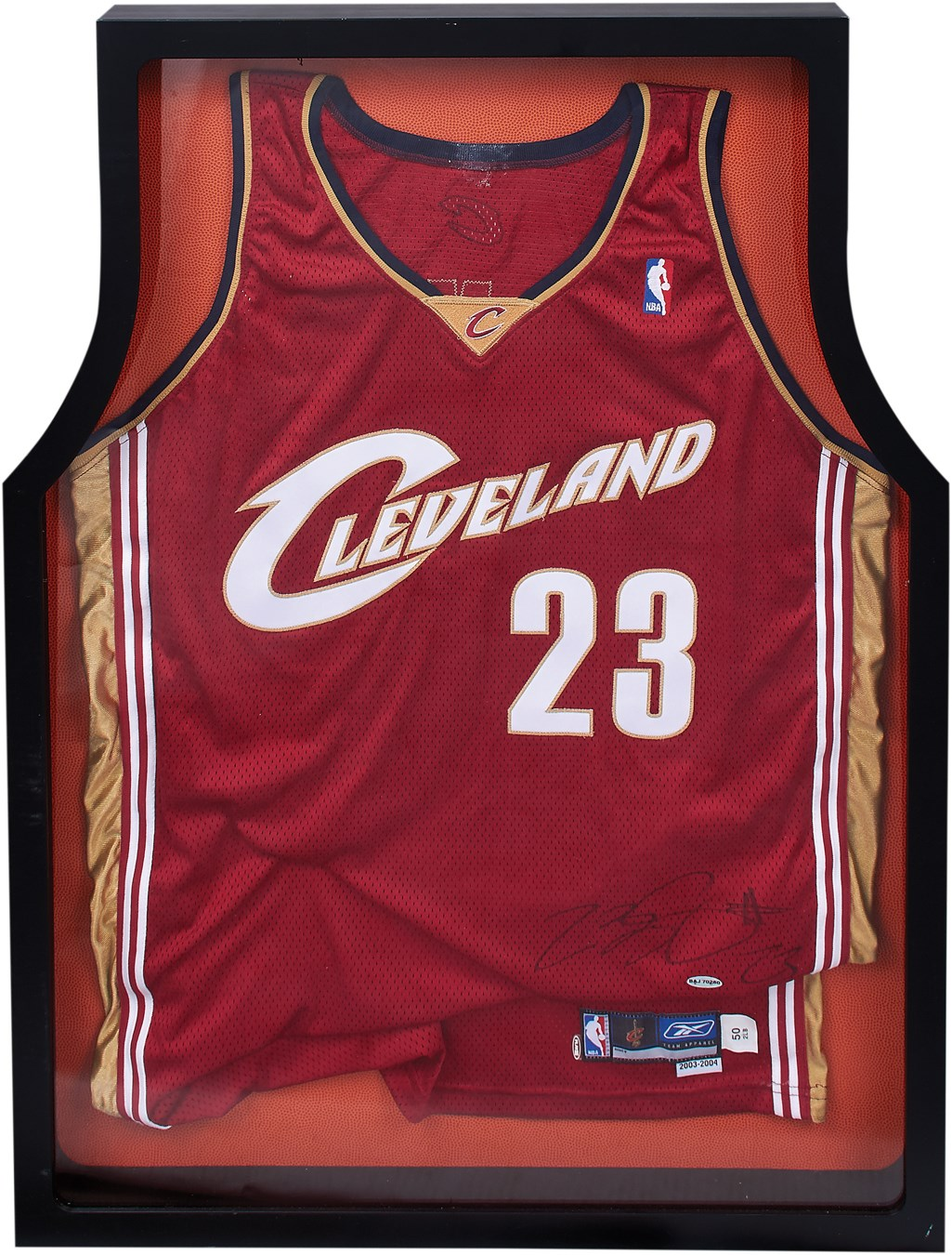 2a70c730413 2003-04 LeBron James Signed Game Issued Rookie Jersey (UDA)