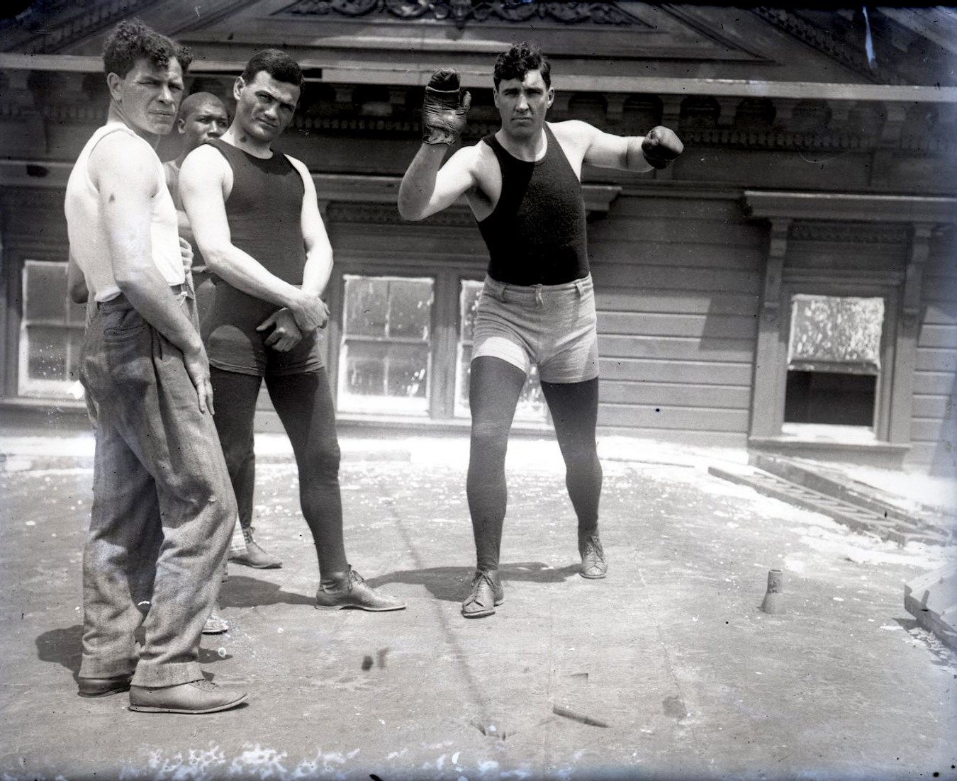 Dana Collection Of Important Boxing Negatives - Steel17