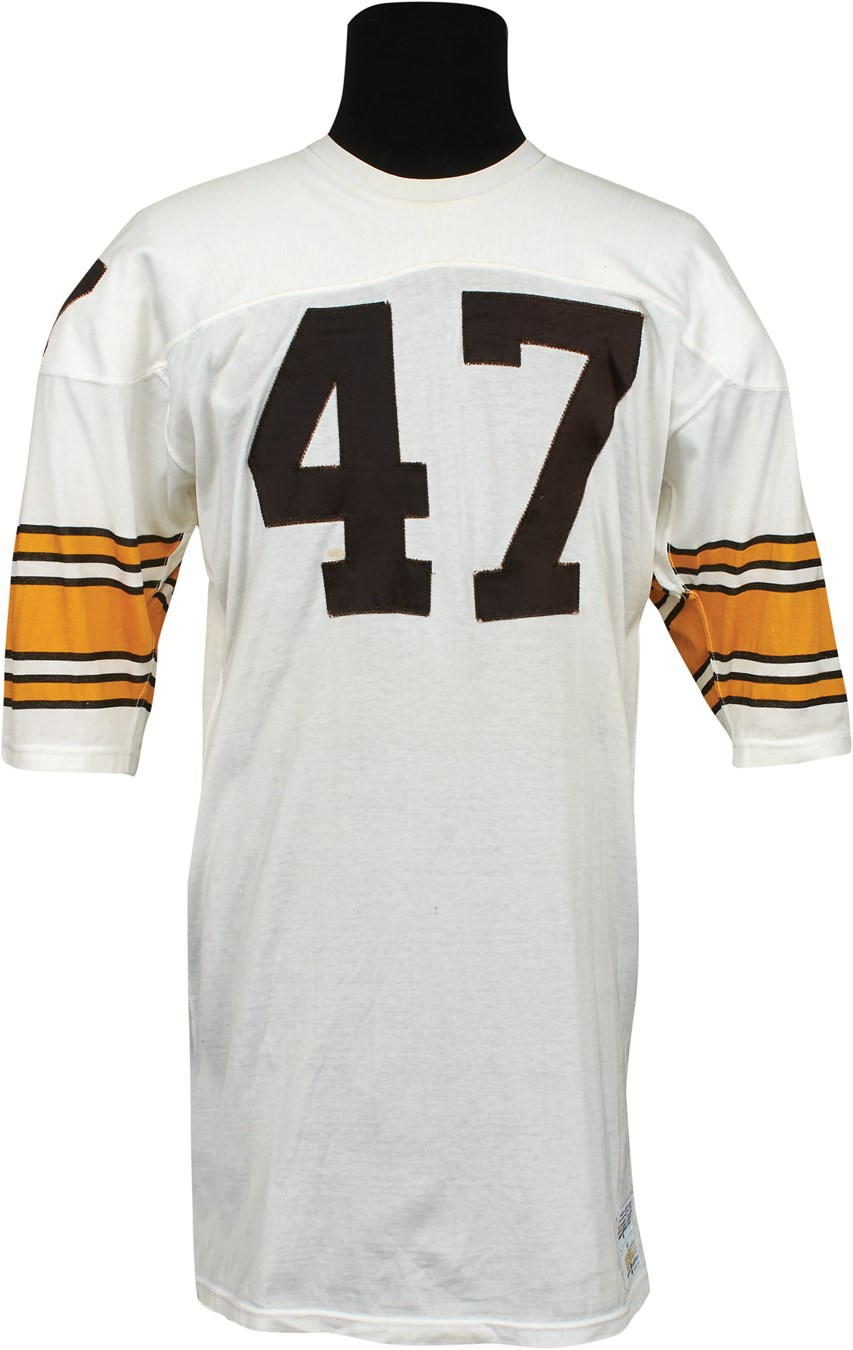 2f70a06ea65 1978 Mel Blount World Champion Pittsburgh Steelers Game Worn Jersey  (Photomatched)