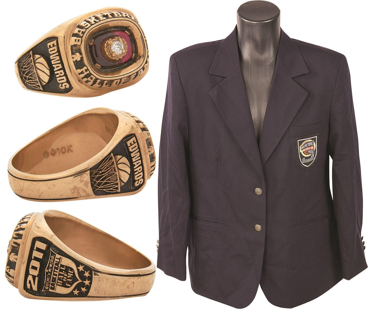 6a55e98f709 2011 Naismith Memorial Basketball Hall of Fame Ring   Jacket Presented to Teresa  Edwards