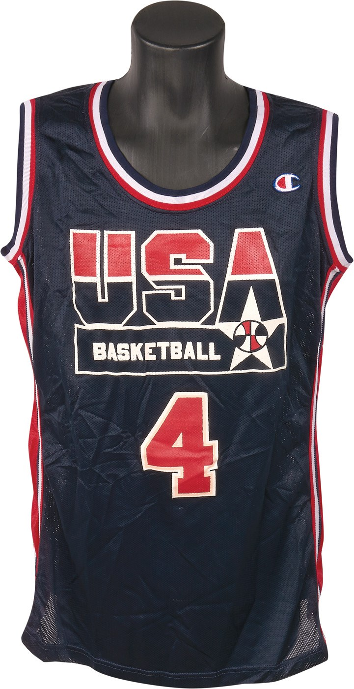 7c40f854627 Teresa Edwards 1992 Barcelona Olympics Game Worn USA Basketball Jersey  (Photo-Matched)