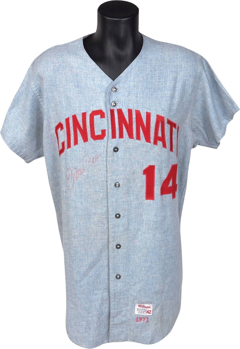 Pete Rose & Cincinnati Reds - Invit17