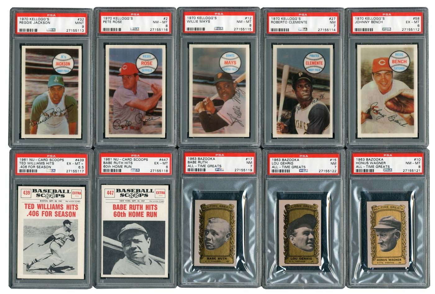 Baseball and Trading Cards - Masters17