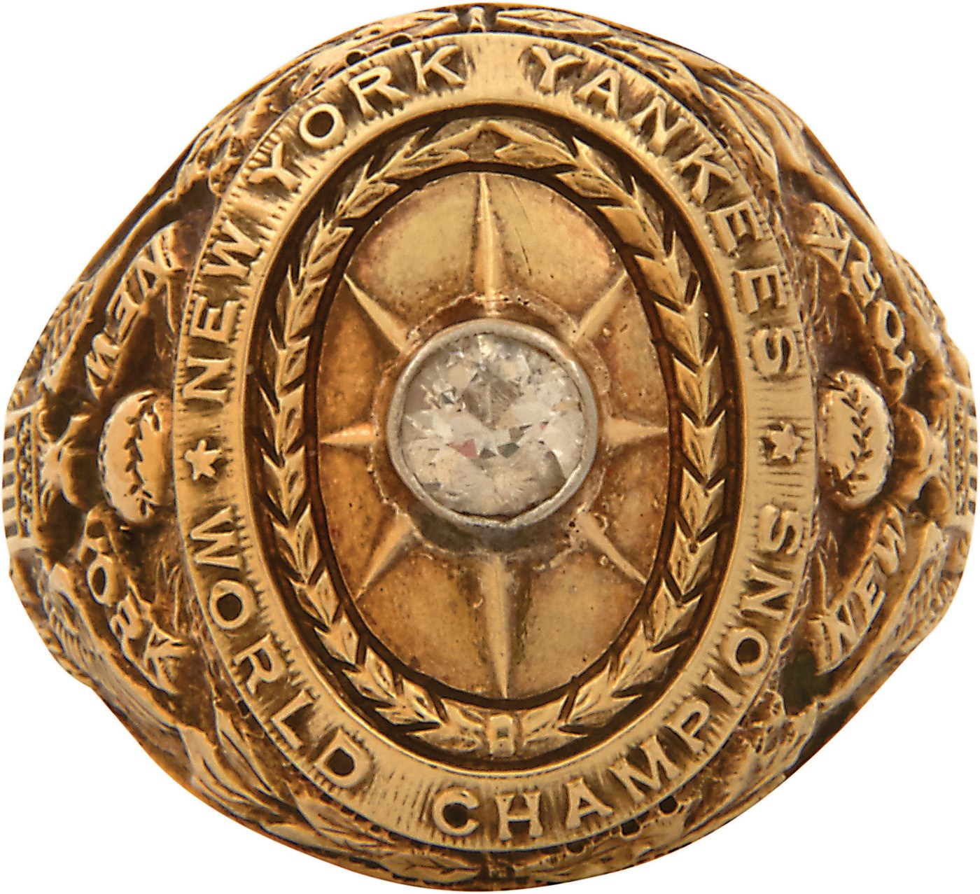 Babe Ruth's 1927 New York Yankees World Series Ring