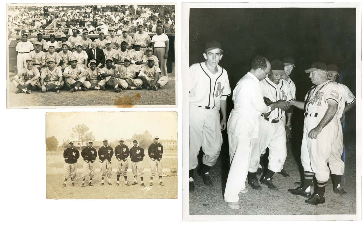 Negro League, Latin, Japanese & International Base - Masters17