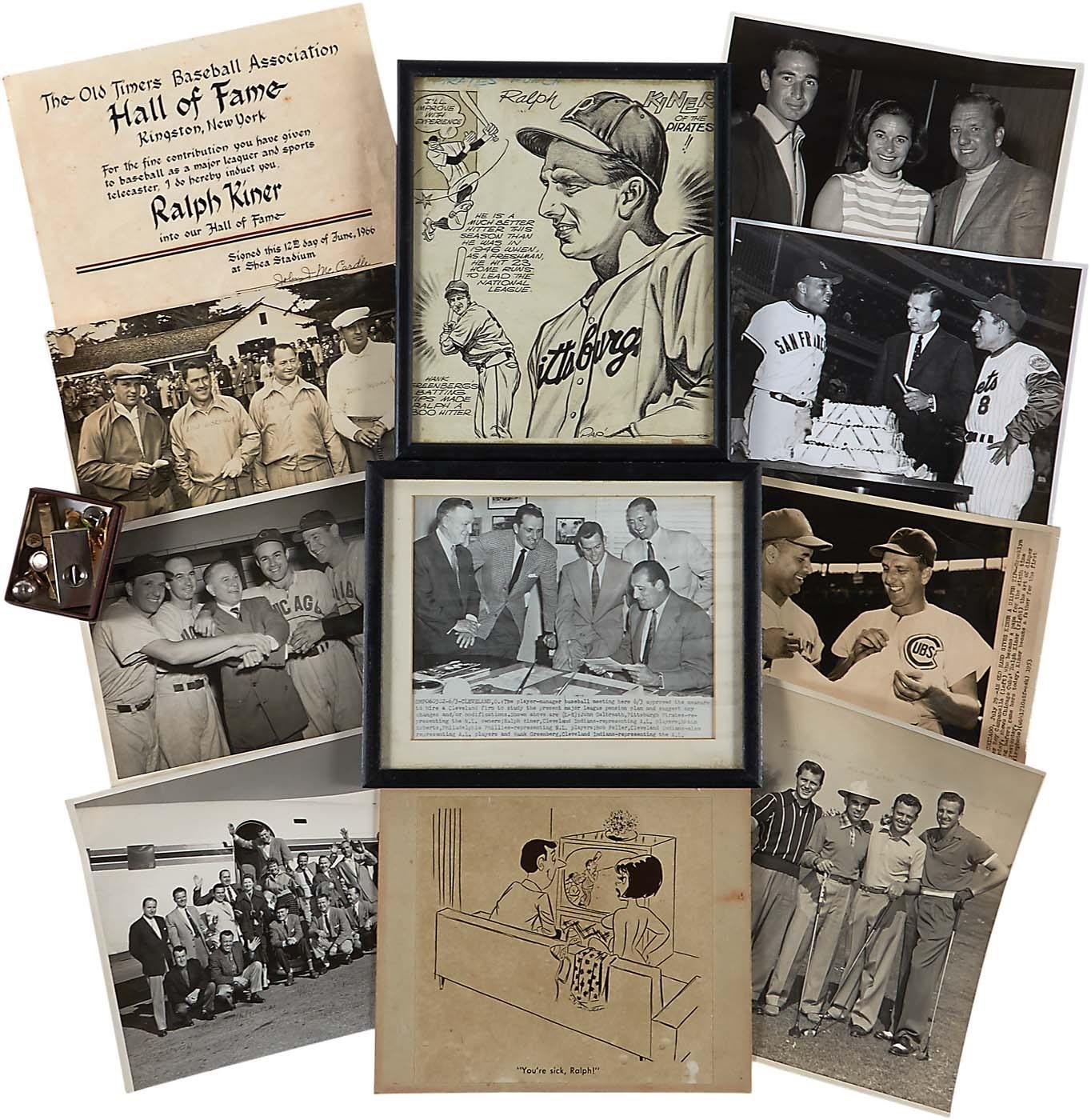 Baseball Memorabilia - Masters17