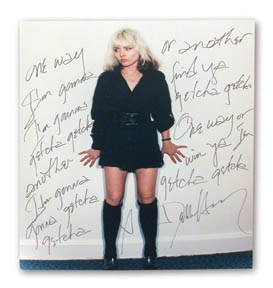 Blondie - auction