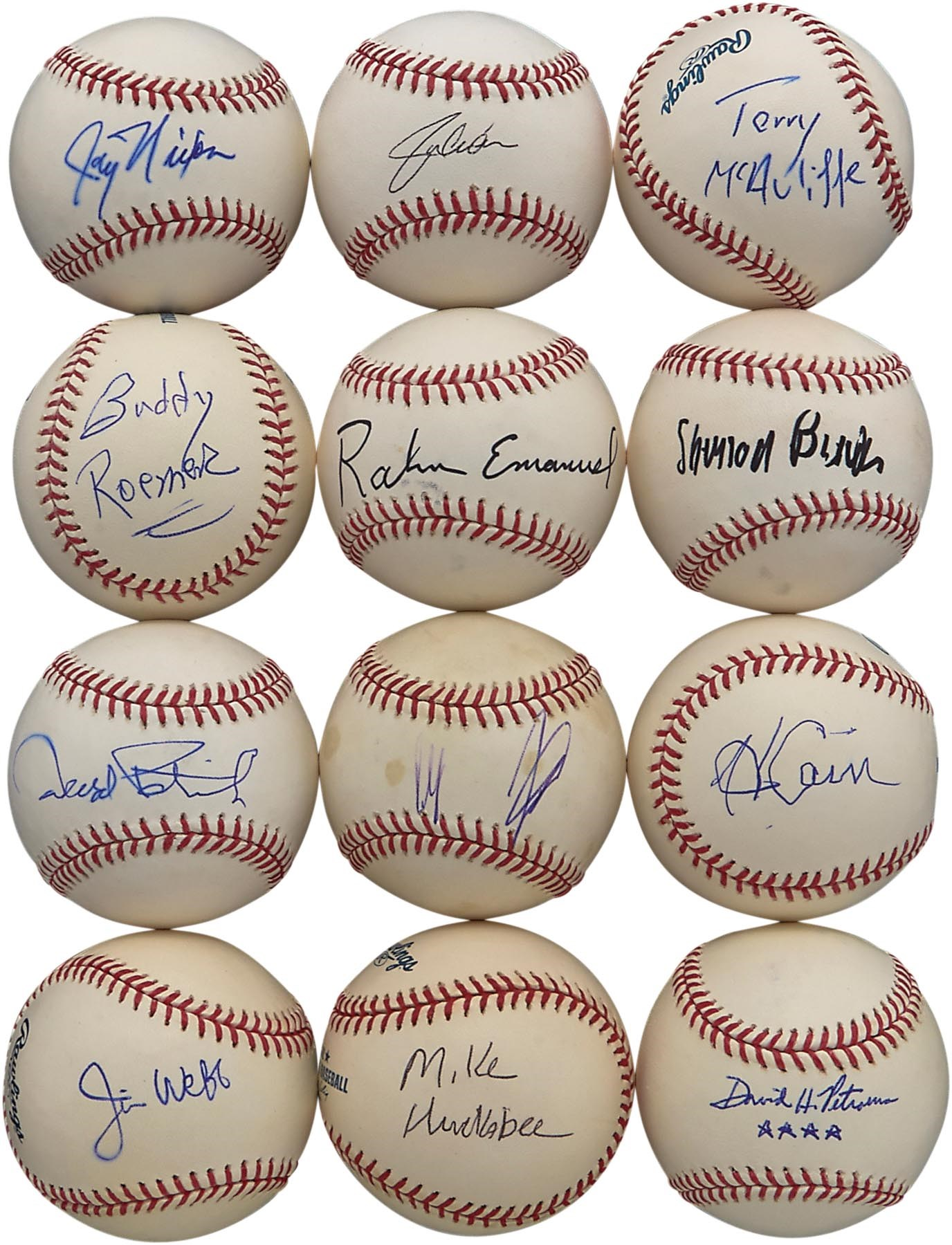 Frank Howard Signed Baseball Sports Mem, Cards & Fan Shop Coa Jsa Excellent In Cushion Effect Balls