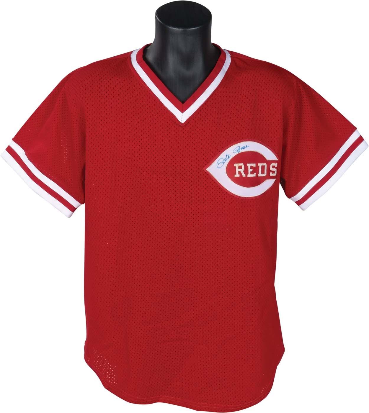 Pete Rose & Cincinnati Reds - Masters17