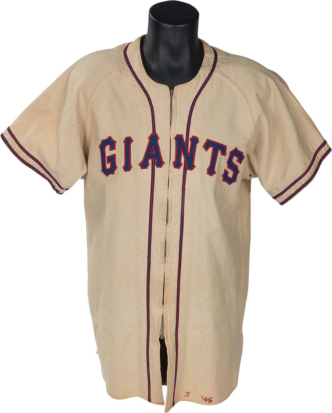 1945 Mel Ott New York Giants Game Worn Jersey (MEARS 8.5) 5050