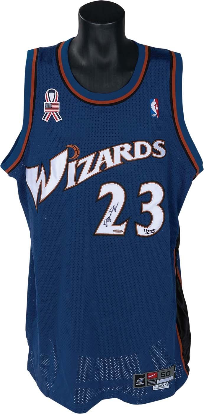 2803b0a6c95a Michael Jordan Signed Bucs and Wizards Jerseys (both UDA)
