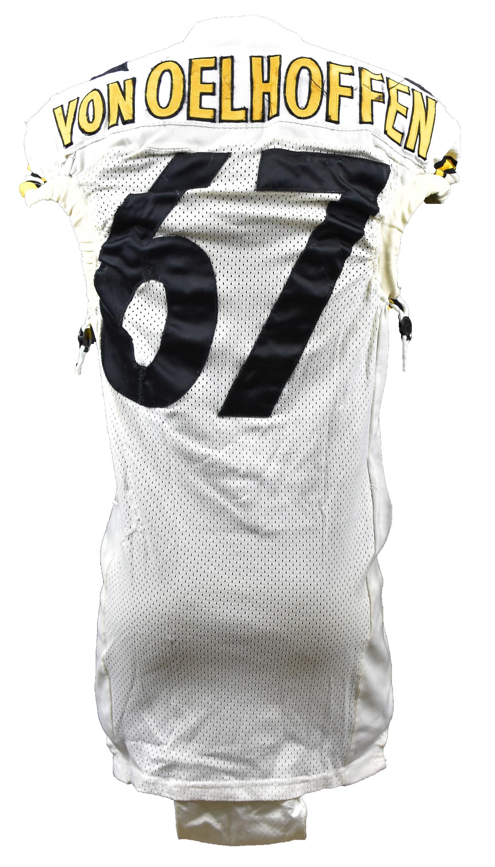 2001 Kimo von Oelhoffen Pittsburgh Steelers Game Worn Jersey (Photo-Matched) 0d3bad161