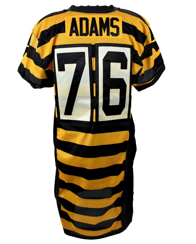 2015 Mike Adams Pittsburgh Steelers Game Worn Throwback Jersey