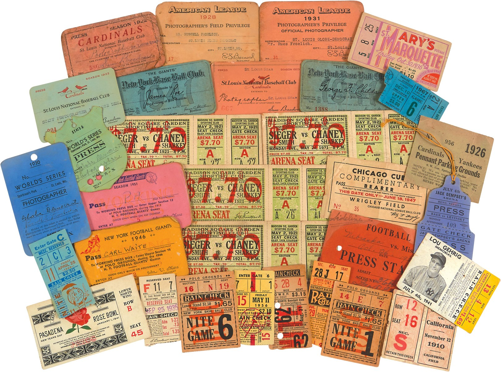 Tickets, Publications & Pins - Leland's Classic