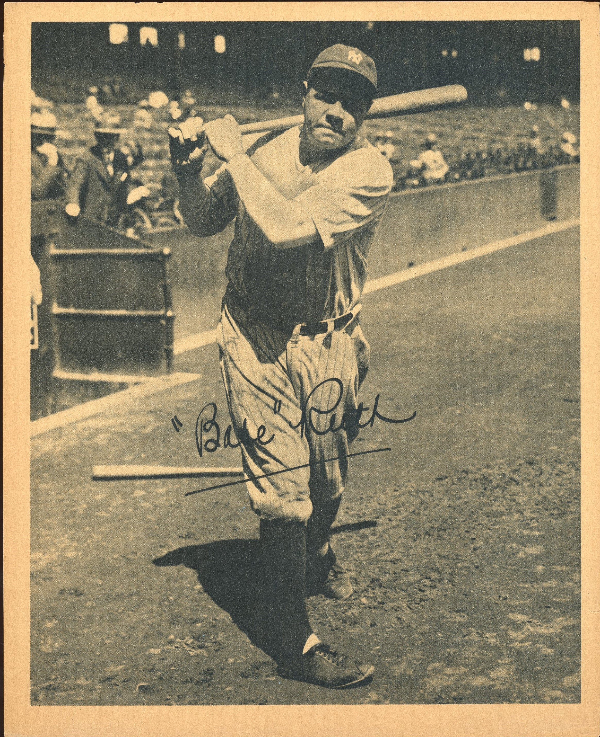 Babe Ruth - Monthly 01-18