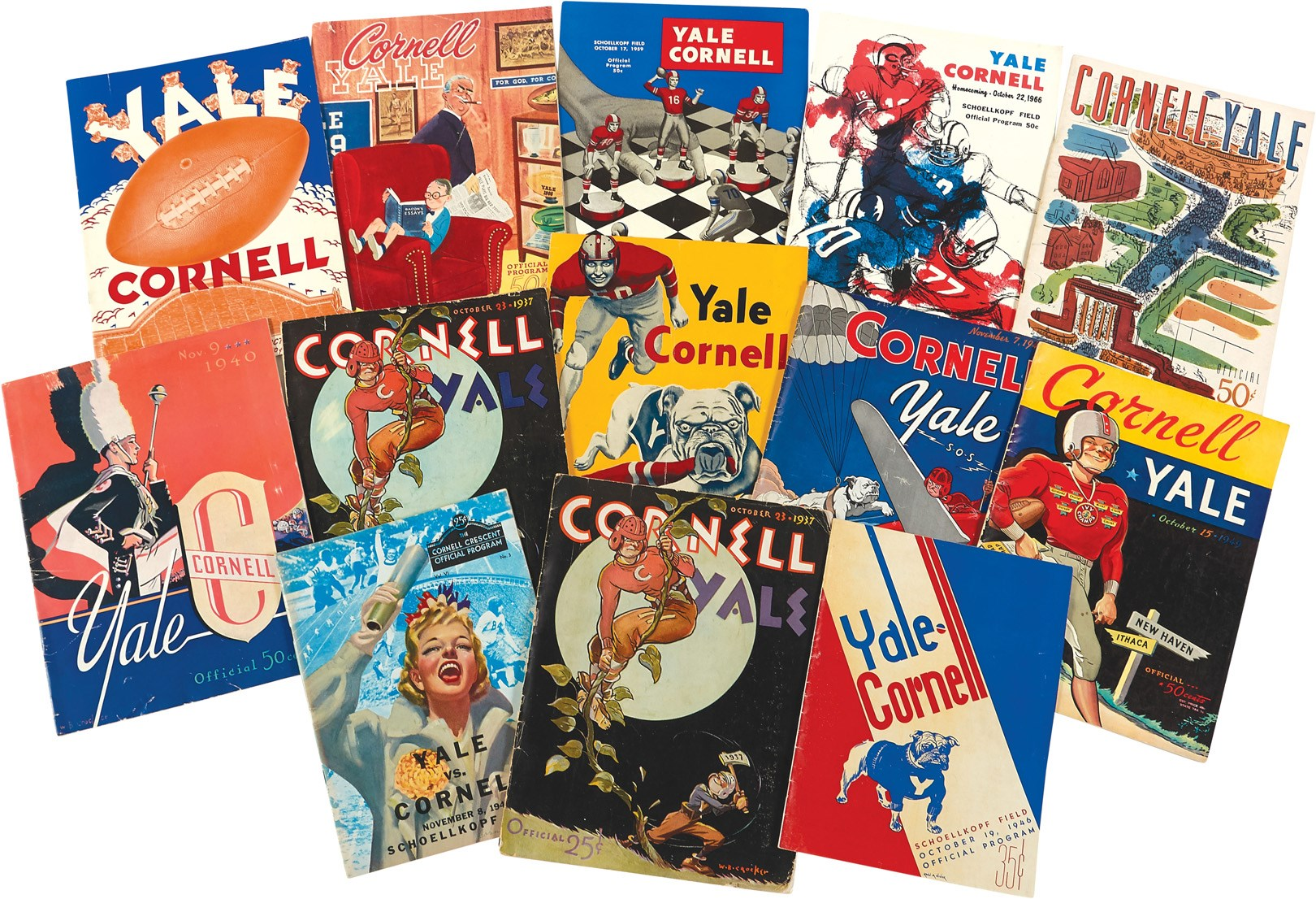 The Ivy League And Collegiate Program Archive - Leland's Classic