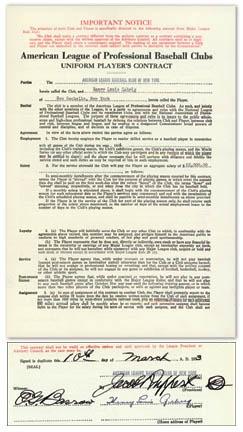 Lou Gehrig - auction