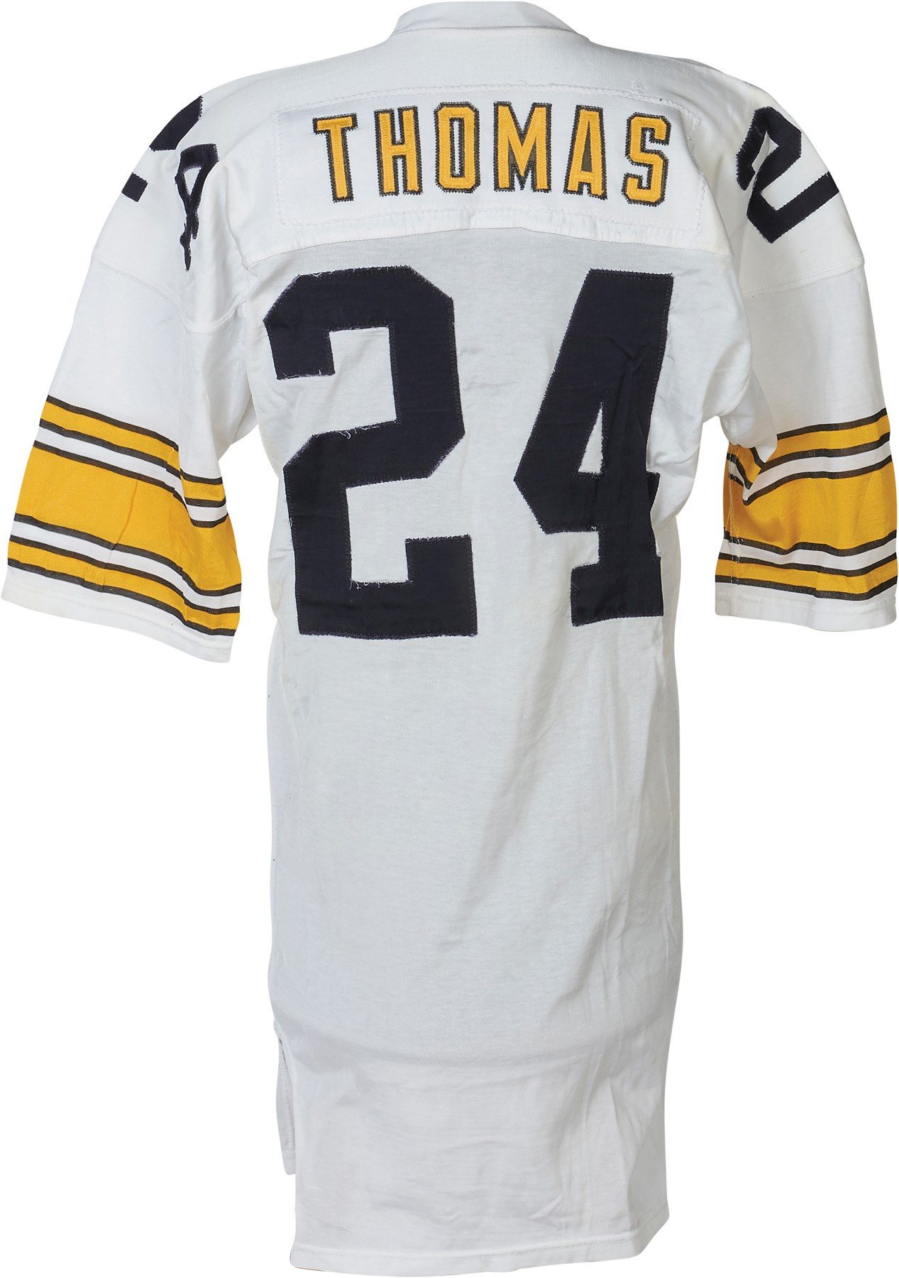 34923837d54 1976 J.T. Thomas Pittsburgh Steelers Game Worn Jersey