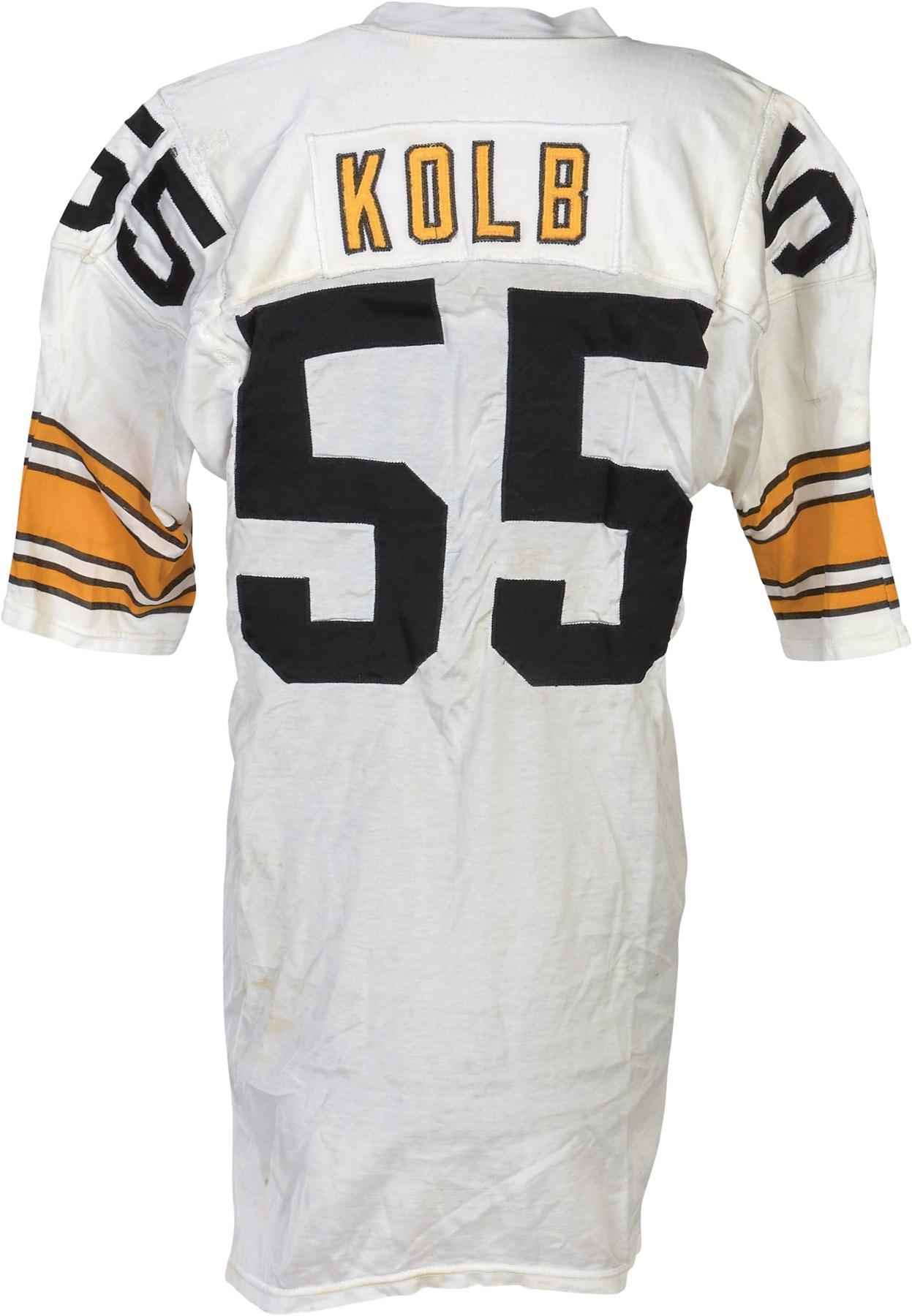 052f44fba2f 1977 Jon Kolb Pittsburgh Steelers Game Worn Jersey