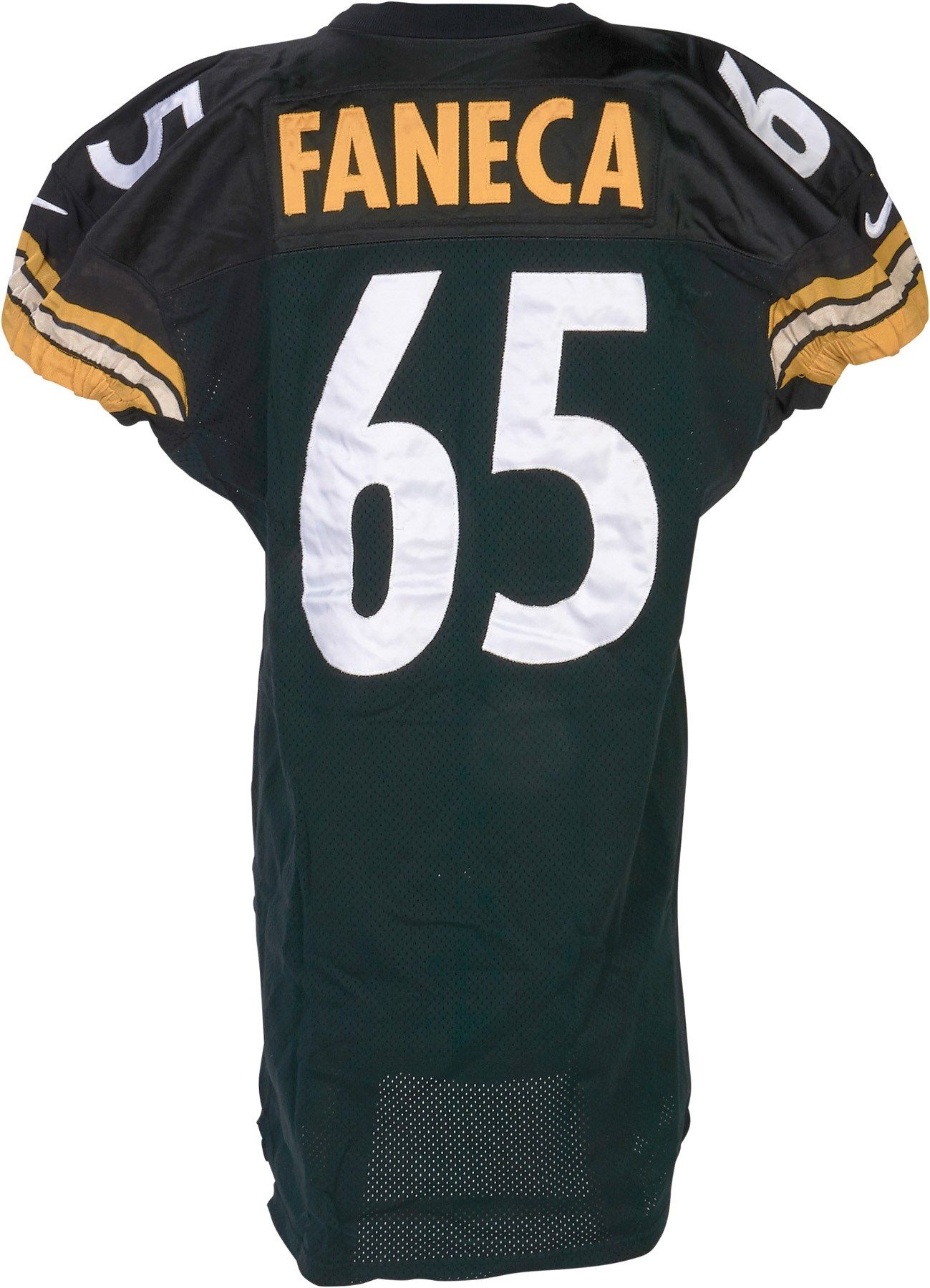 77e068a15e8 Lelands.com - The Pittsburgh Steelers Game Worn Jersey Archive ...