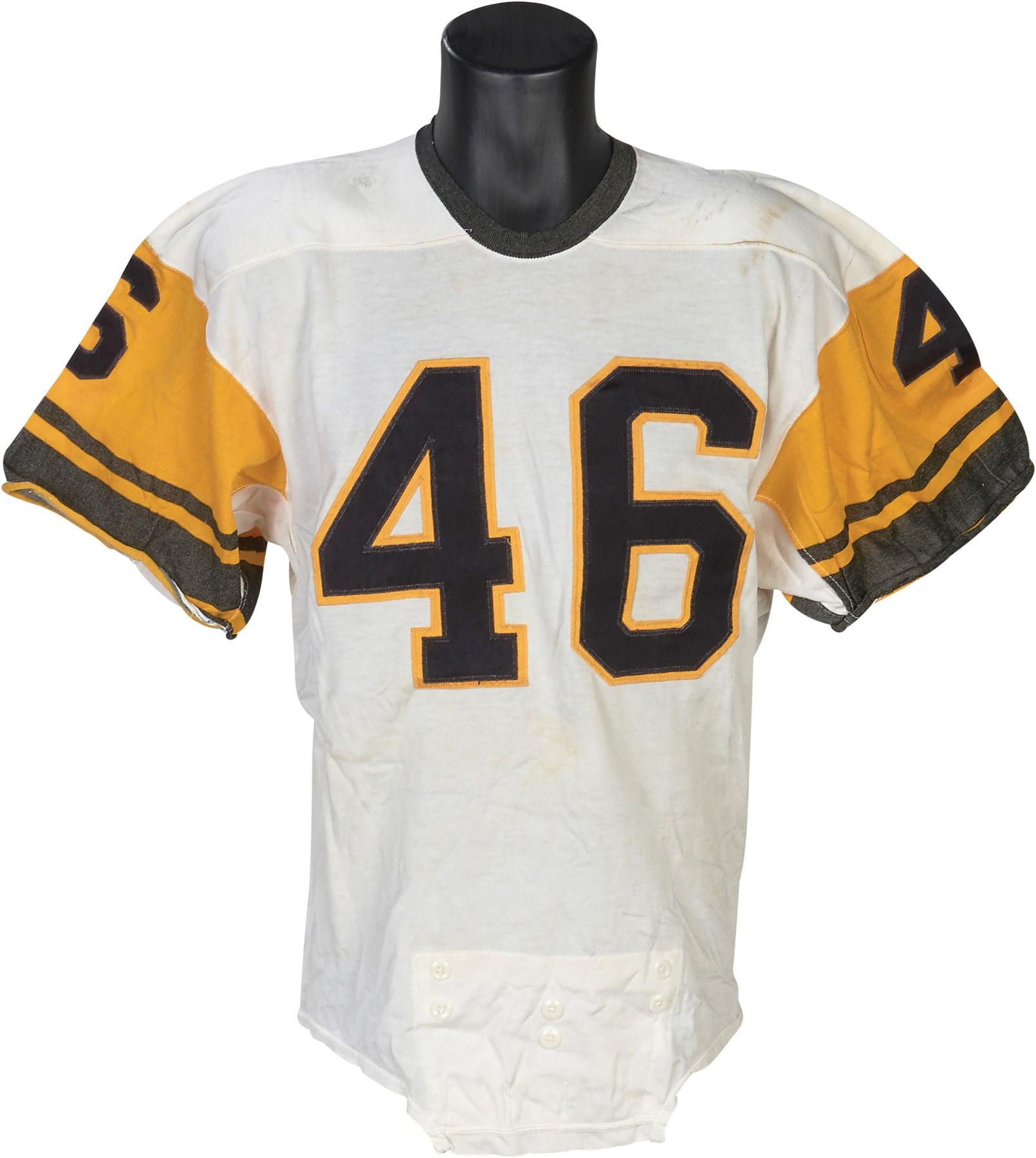 e0f24c5e9c7 1962-63 Bob Ferguson Pittsburgh Steelers Game Worn Jersey