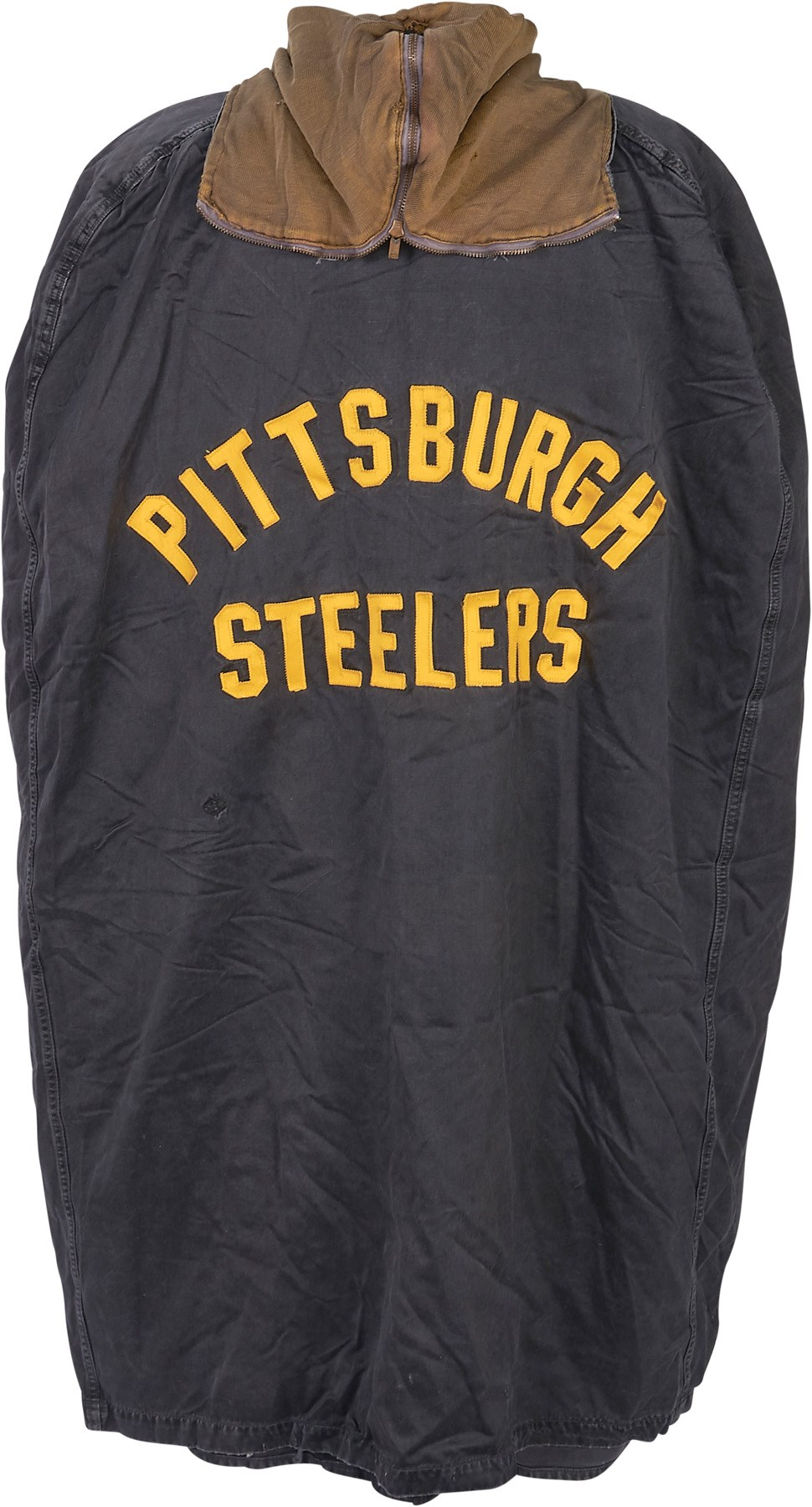 28a05c4779e Vintage Pittsburgh Steelers Game Worn Sideline Cape