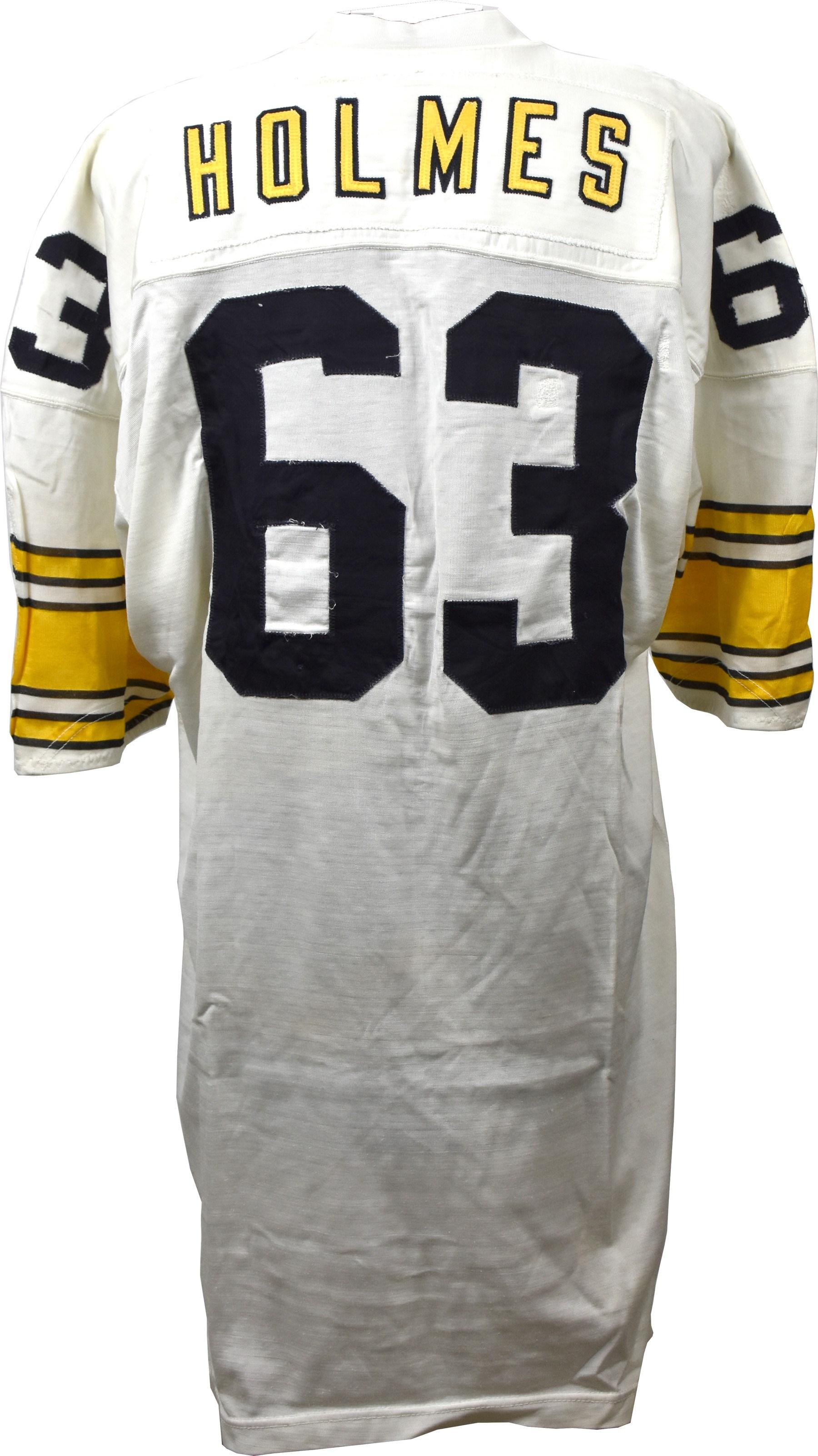 e2794c750c1 1975 Ernie Holmes Game Worn Pittsburgh Steelers Jersey