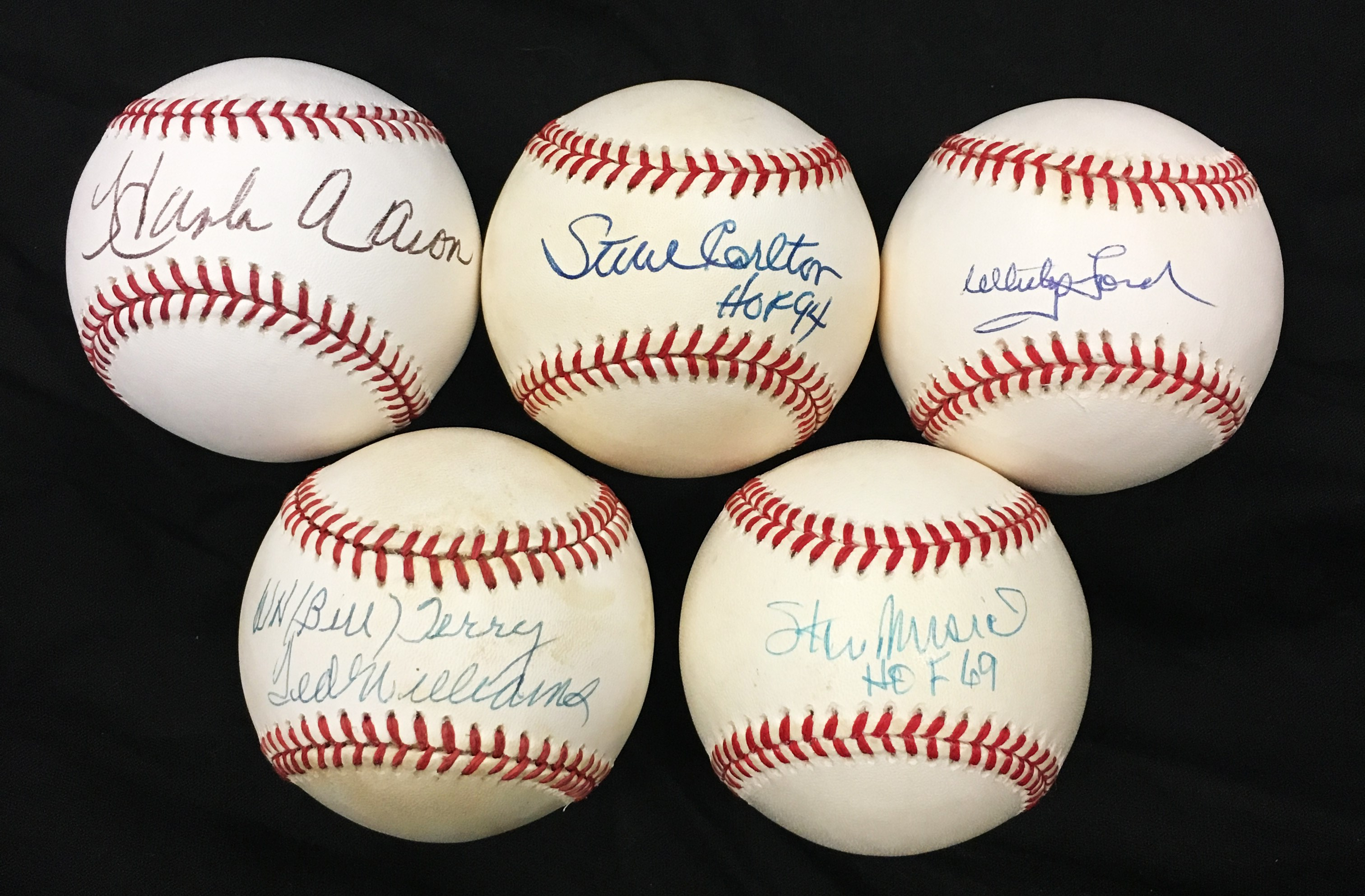 Baseball Autographs - Monthly 02-18