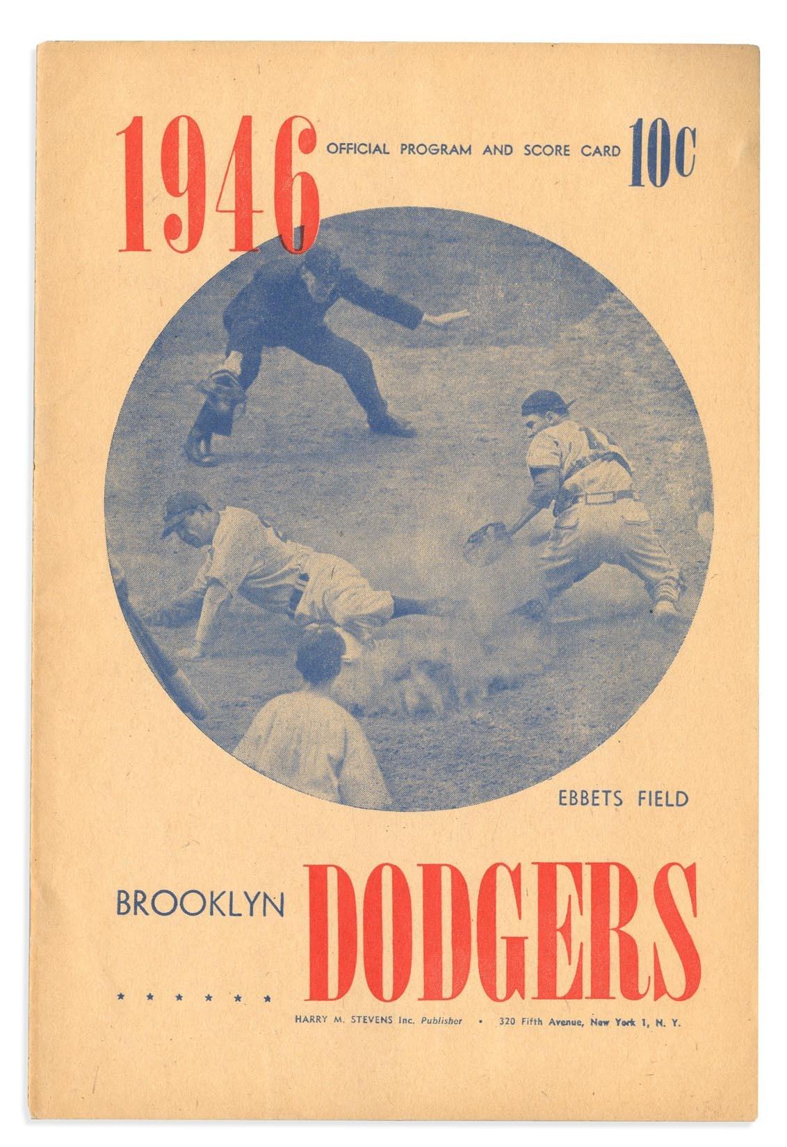 Jackie Robinson & Brooklyn Dodgers - 2018 Invitational