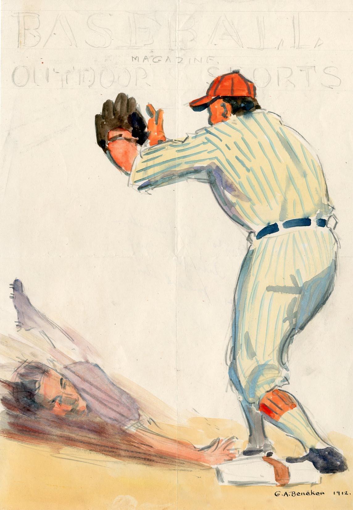 The Baseball Magazine Original Art - 2018 Invitational