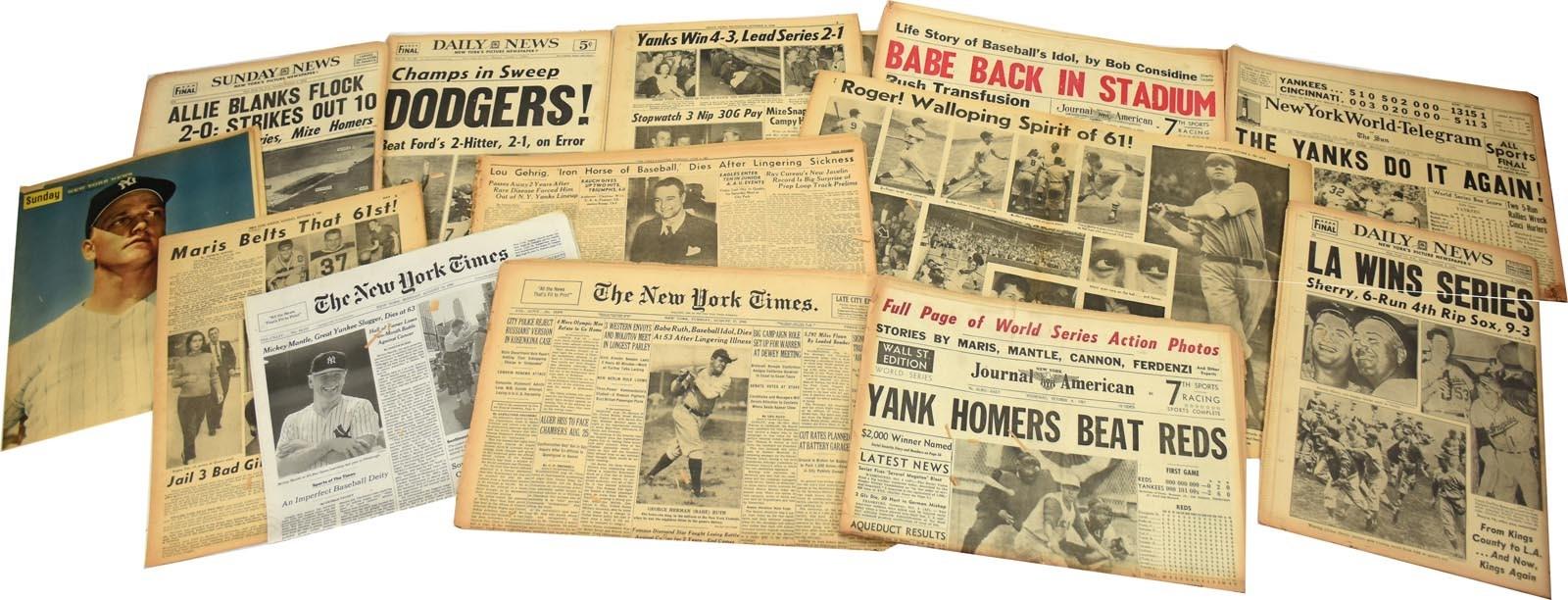 Baseball Memorabilia - Monthly 04-18