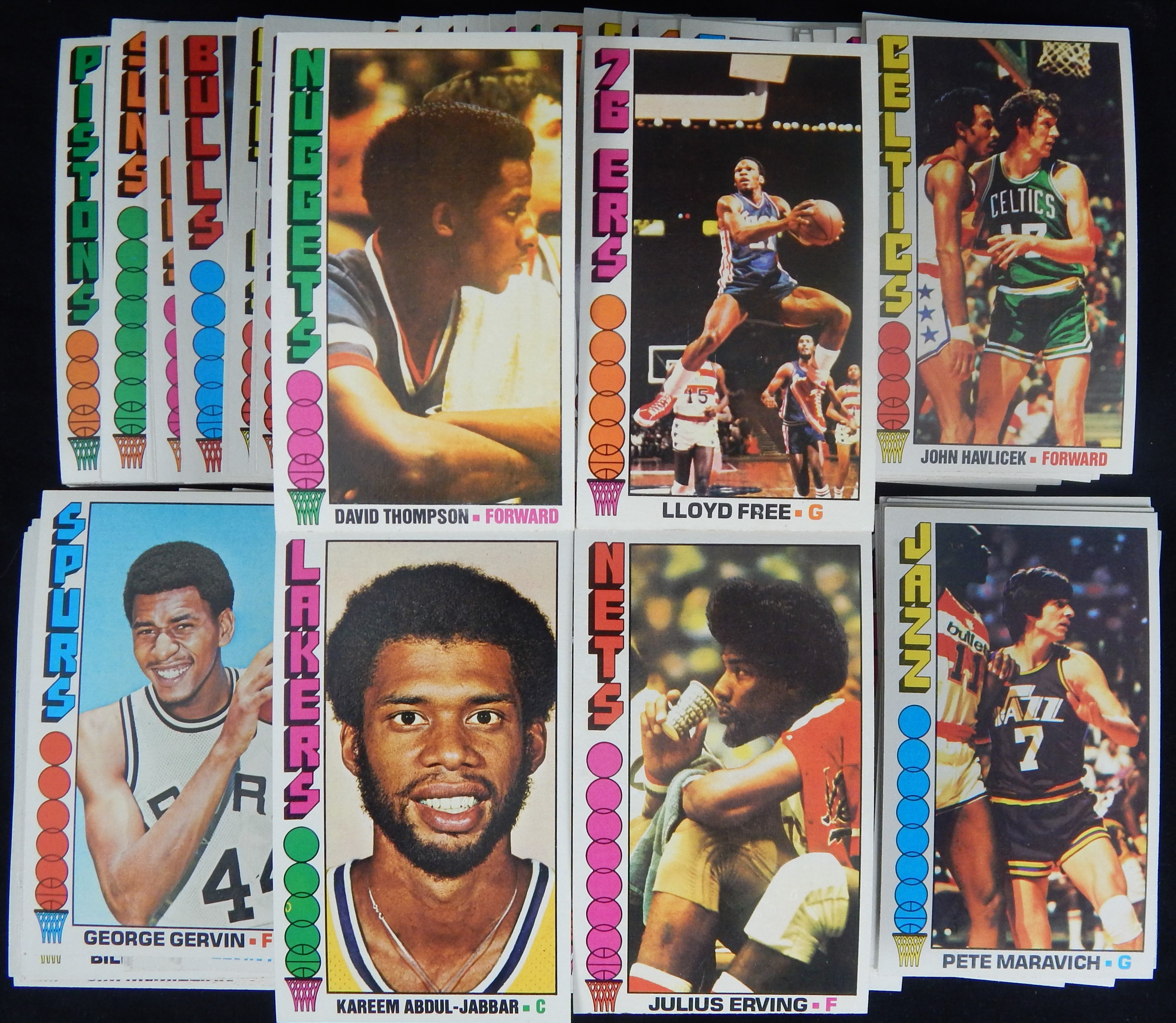 Basketball Cards - Monthly 05-18