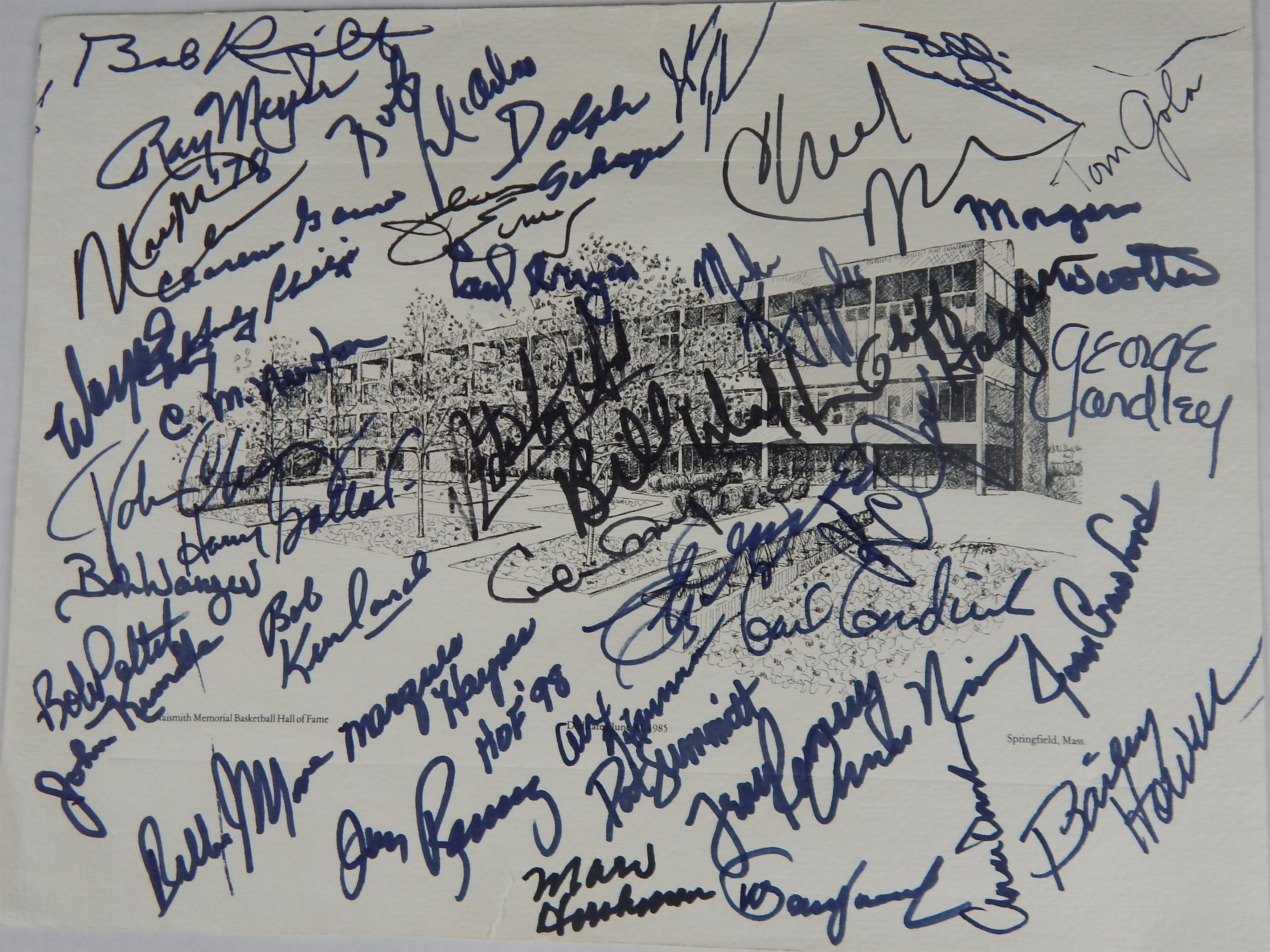 Autographs - Monthly 05-18